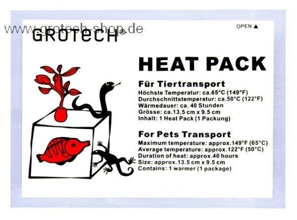 GroTech Heat Pack