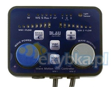 Blau Wave Motion Twin Controller
