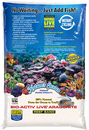 Nature's Ocean Live Natural White 4,5 kg