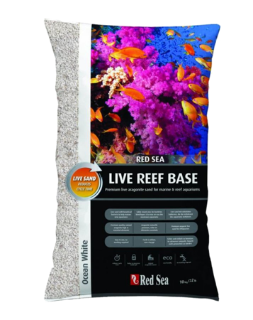 Red Sea Live Reef Base Ocean White 10 kg