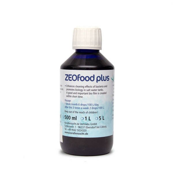 Korallen-Zucht ZeoFood Plus 500 ml